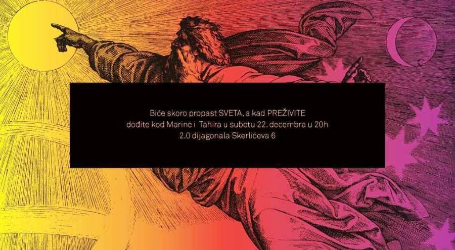 Novogodisnja zurka Marine i Tahira, 22.12.2012.