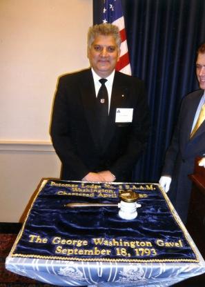 Američki kongres, čekić Džordža Vašingtona