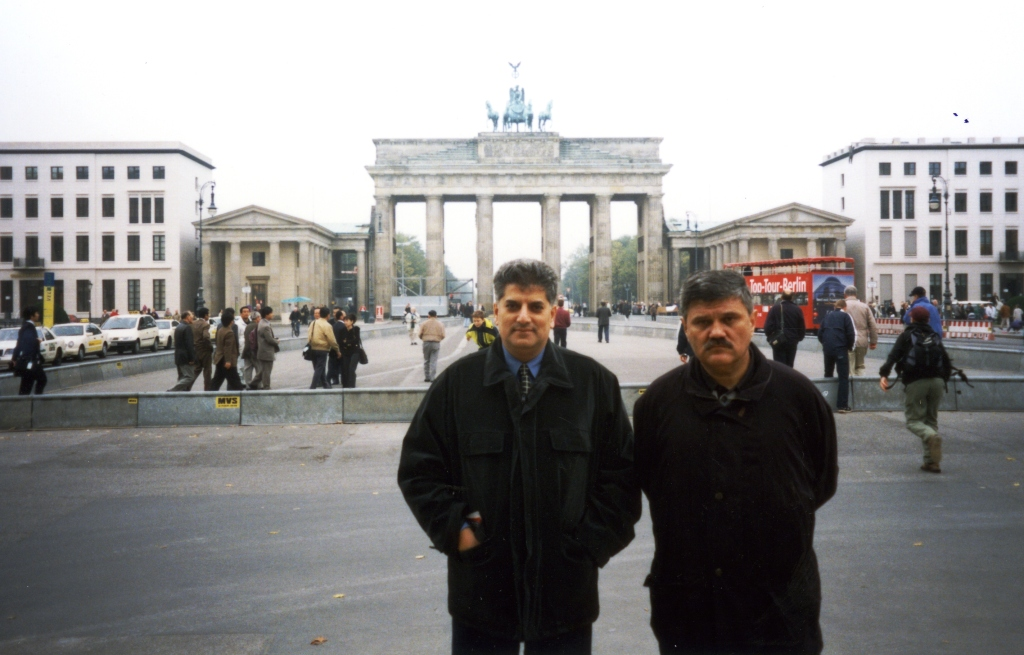 Dušan Mihajlović i Tahir Hasanović u Berlinu