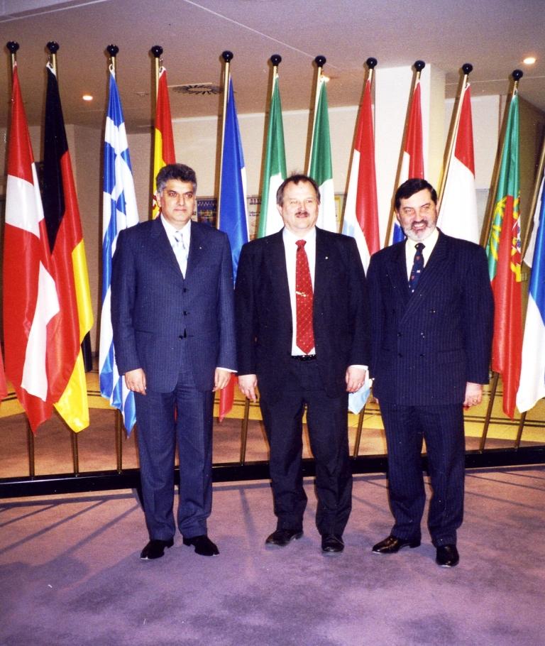 Gostovanje Tahira Hasanovica u Evropskom parlamentu kao uvodnicara