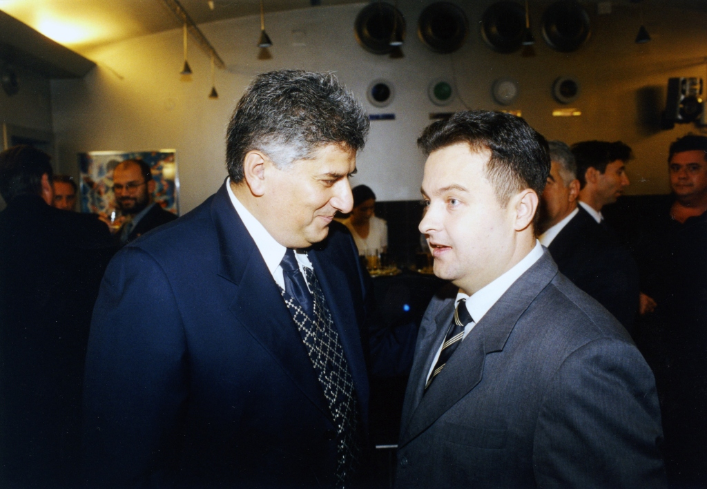 Sa prijateljem Ivicom Dačićem