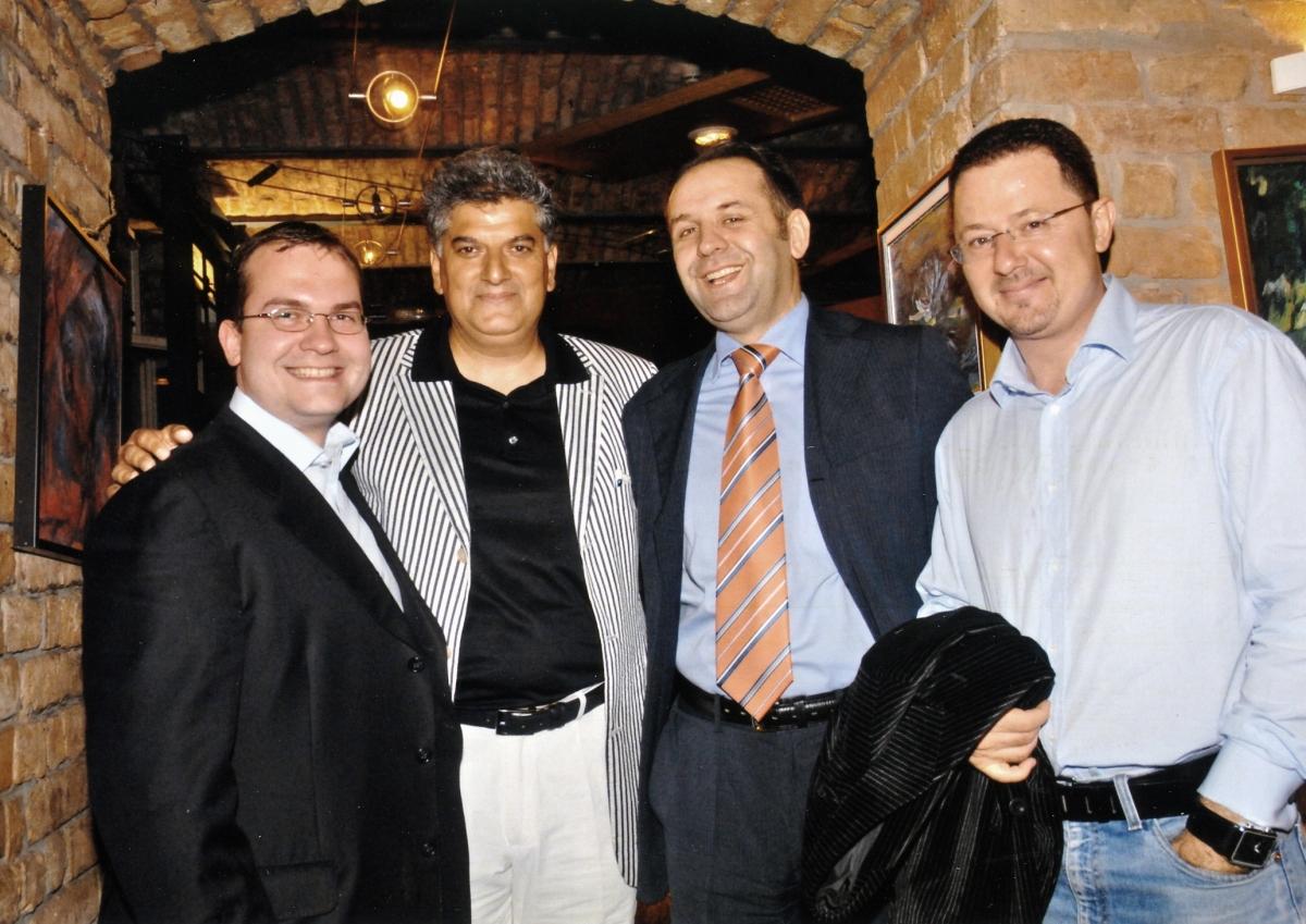Ministar Rasim Ljajić, savetnik Predsednika gospodin Ratković i ugledni advokat Siniša Nikolić