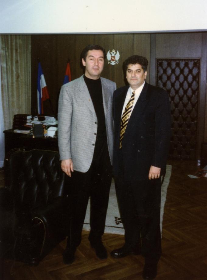 Prijatelj Milo Djukanovic iz poslednjeg predsedništva omladine SFRJ
