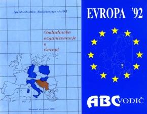 Omladinsko organizovanje u Evropi i priručnik Evropa '92, autor TahirHasanović