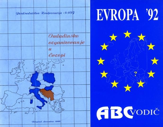 Prirucnik Evropa 1992, autor Tahir Hasanovic