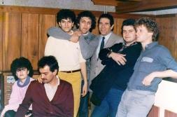 Savez studenata Beograda, Goran Gnus, prof dr Slobodan Unković, Zoran Todorović i Tahir Hasanović, 1985. godina