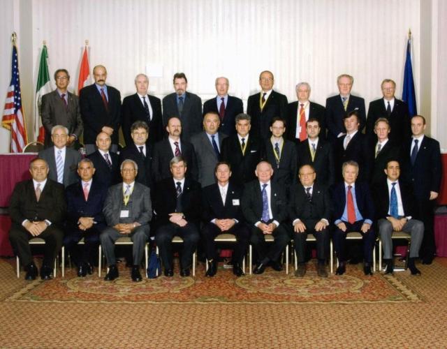 Tahih Hasanovic na konferenciji Velikih Majstora Velikih Loza Sjedinjenih Americkih Drzava