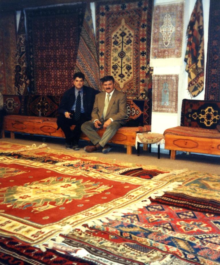 Tahir Hasanovic i Dusan Mihajlovic, poseta Turskoj