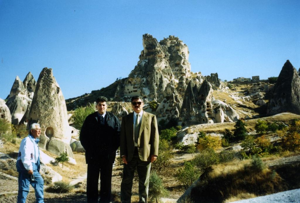 Tahir Hasanovic, Kapadokija, Turska, zvanična poseta