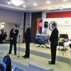 Proslava 90 godina masonerije i 40. Skupština Regularne Velike Lože Srbije / Celebration and Annual Meeting of the Regular Grand Lodge ofSerbia