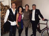 Tahir i Marina sa gostima, proslava 2012