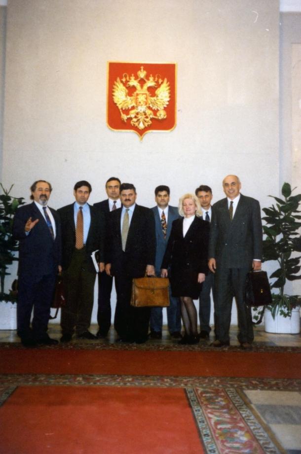 Zvanična poseta Nove demokratije ambasadi SRJ u Moskvi