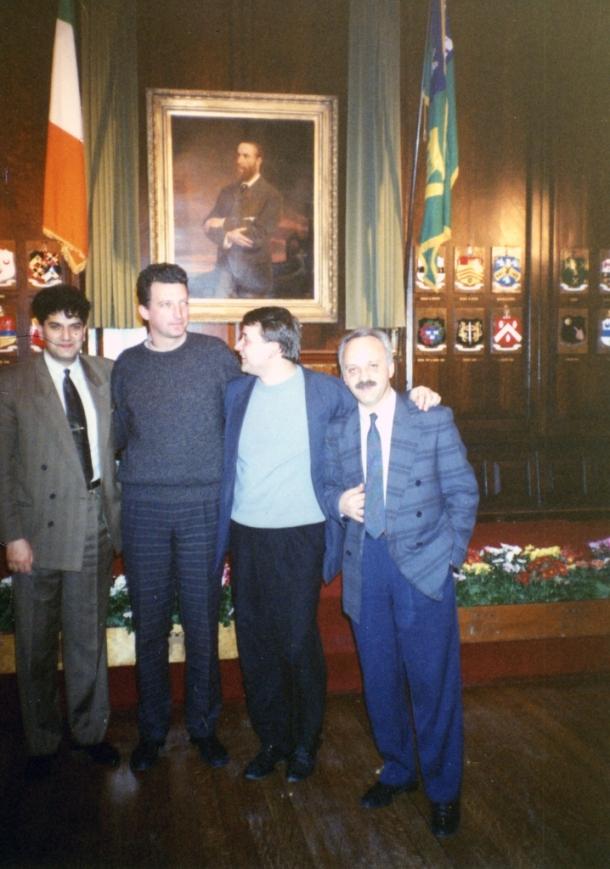 Dablin, Sastanak  predsednika omladinskih saveta bivše Jugoslavije