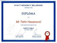 Dani kuvanja, Tahir Hasanovic