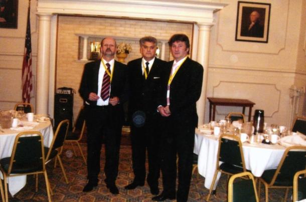 Inauguracija Velikog Majstora sa Velikim Majstorima Crne Gore i Srbije, Vasington, SAD