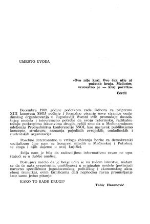 Izdavačka delatnost u predsedništvu omladine Jugoslavije, slika 2