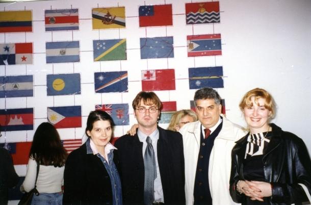 Milica i Željko Mitrović, Ivana Pejović i Tahir Hasanovic u Londonu