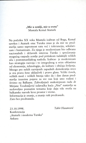 Nea izdavačka delatnost direktor i glavni urednik Tahir Hasanović, slika 10