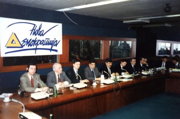 Okrugli sto Nove demokratije Sir Ajvor Roberts ambasador Velike Britanije