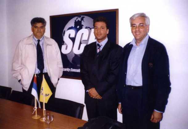 Osnivanje kompanije SCP International, Kim Den Hondt i Djordje Vucinic