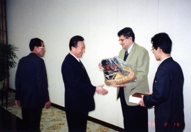 Predsednik međunarodne komisije radničke partije Koreje
