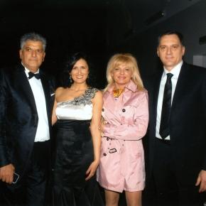 Prijatelj i poslovni partner Dragan Peić sasuprugom
