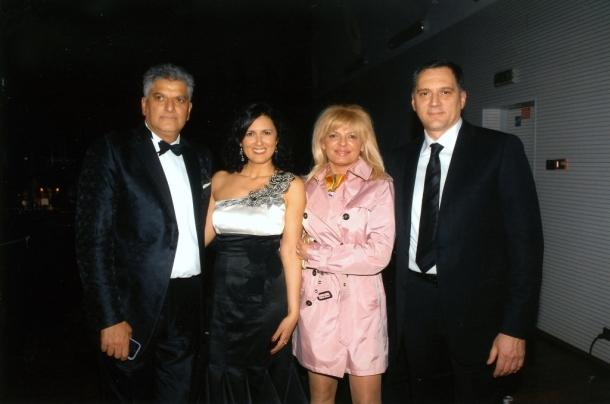 Prijatelj i partner Dragan Peić sa suprugom