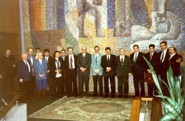 Prijem u ambasadi SRJ u Moskvi