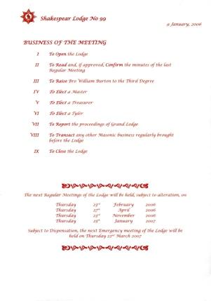 Prisustvo radu Lože Šekspir broj 99 u Londonu