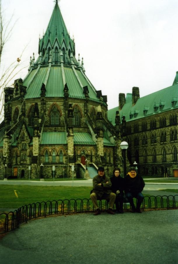 Rebeka Srbinović i Dušan Mihajlović u Otavi, Kanada