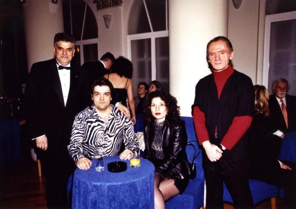 Slikar Kosta Bunuševac i operski pevač Nikola Mijailović