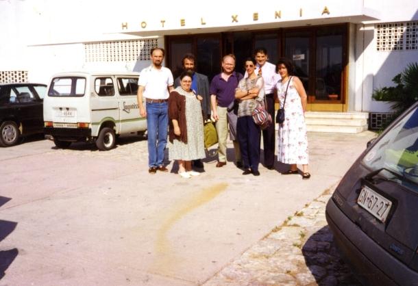 Konferencija Soroš fondacije, Lagonisi, Atina - gopsođa Sonja Liht i učesnici