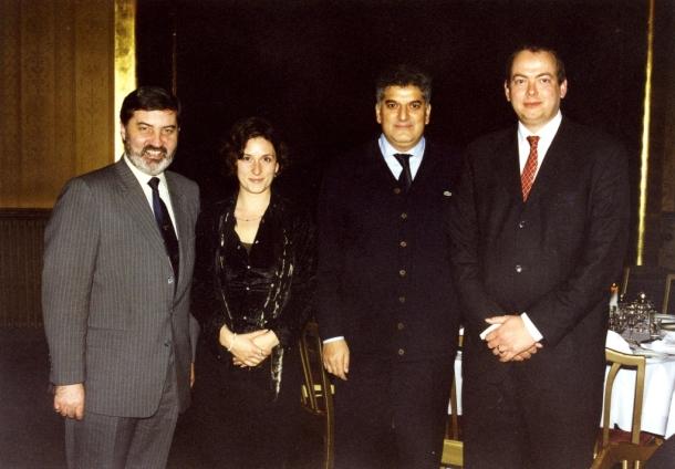 Svečana večera predsednik i sekretar Evropskih liberala