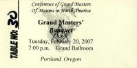 Svetski kongres Velikih Loža u Portlandu, Oregon, SAD, slika 3