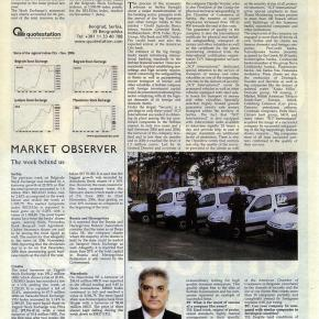 Tahir Hasanovic Interview for The Belgrade Times, SCP International – Safe, professional, high qualitysecurity