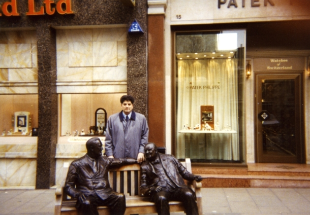 Tahir Hasanovic, New Bond Street, London