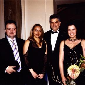 Birthday Party, Tahir Hasanovic with IvicaDacic