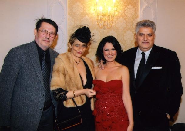 Tahir i Marina Hasanovic sa Isidorom Bijelicom i Nebojšom Pajkićem