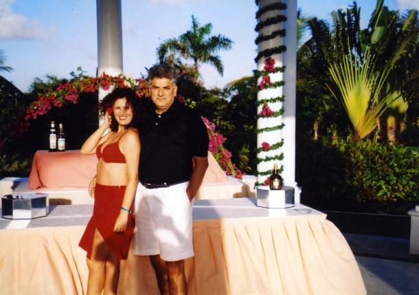 Tahir sa suprugom Marinom Hasanovic u Dominikanskoj Republici