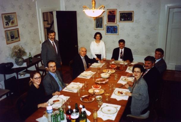 Večera kod ambasadora u Kanadi