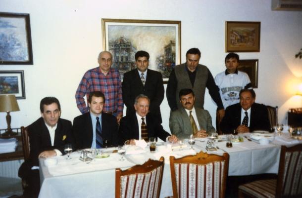 Večera sa Milanom Panićem, Premijerom SRJ