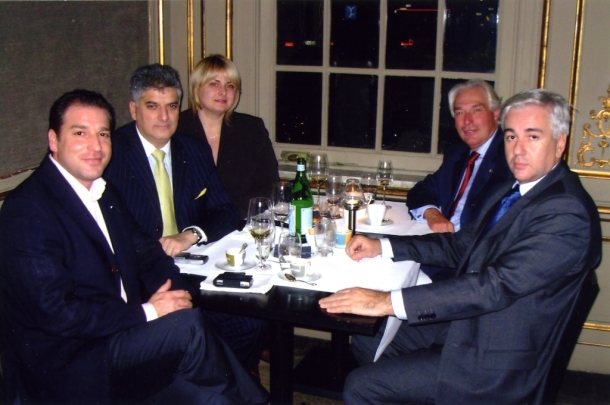 Večera u Antverpenu, general Den Hondt, gospodin Đorđe Vučinić, Kim den Hondt, gospođica Jasmina Đokić