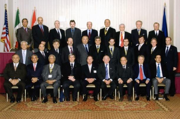 Tahir Hasanovic at the World Congress of Grand Lodges in Portland, Oregon