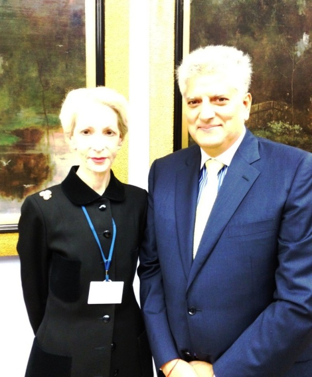 Barbara Lady Judge Lower, Trilateral Commission meeting in Cracow