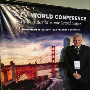 XIV World Conference of Regular Masonic Grand Lodges, San Francisco