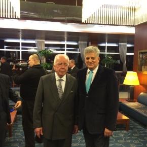 Mr. Budimir Lončar ex and last minister of foreign affairs ofYugoslavia.