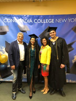 Commencement of 137th Academic Year at Concordia College(Video)