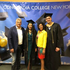 Commencement of 137th Academic Year at Concordia College (Video)