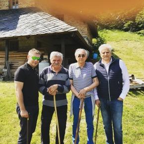 Visiting Dušan Mihajlovic at Povlen mountain nearValjevo.